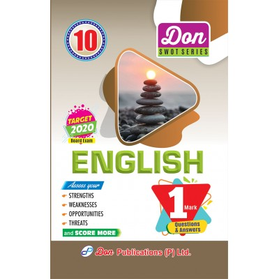 10th - English - 1 Mark