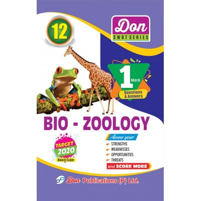 12th Bio - Zoology - 1 Mark