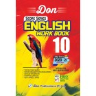 10th English Work Book (Score Series) - (2020-21 Edition)