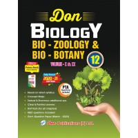 12th Biology (Bio - Zoology & Bio - Botany Guide) – Vol I & II Combined