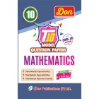 10th Mathematics T10 Model Question Papers with Key