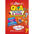 10th Q-Bank & Answer Book (2 Volumes)